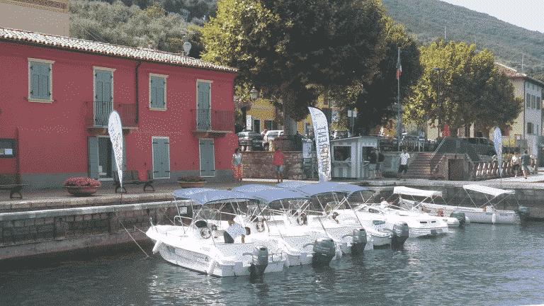 Servizi di noleggio barche per cerimonie, eventi e taxi veloci sul Lago di Garda