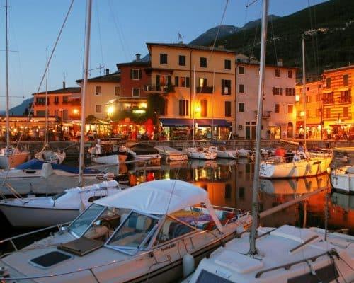 Castelletto Brenzone sul Garda - Location on Lake Garda