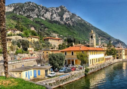 Gargnano - Location on Lake Garda