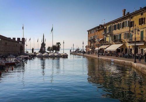 Lazise - Location on Lake Garda