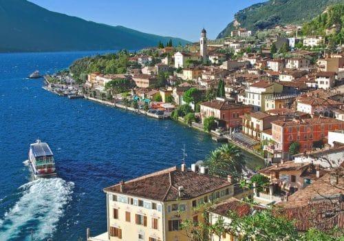 Limone - Location on Lake Garda