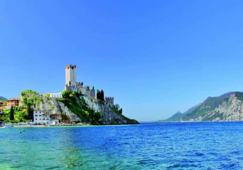 Malcesine - Location on Lake Garda